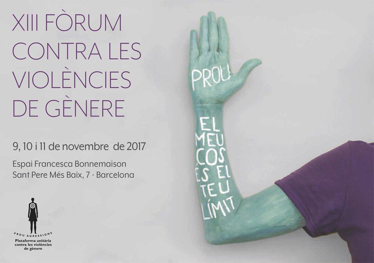 provar Twitter Mitjans - ♀️✅ El pròxim 9 de novembre arriba el XIII Fòrum contra les violències de gènere. Ja t'has inscrit?📝 https://t.co/oM0F64jAUU
