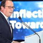 A Séoul, François Hollande dénonce la «double faute» de Donald Trump