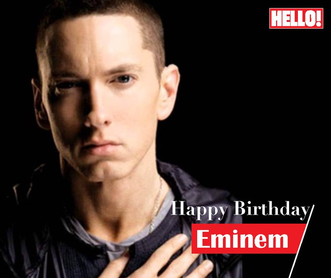 HELLO! wishes Eminem a very Happy Birthday