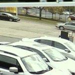 Surveillance video captures road rage shooting that injured one man