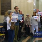 Protesters voice concerns over Iowa's voter ID laws