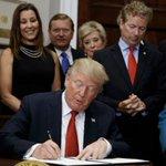 Massachusetts business owner faces backlash for attending Trump signing