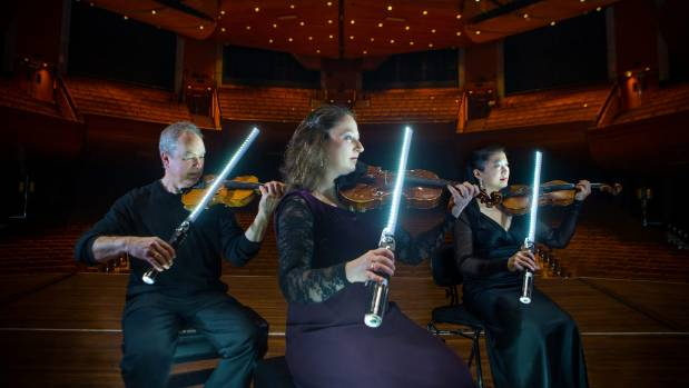 Imperial March set to vibrate the walls of the TSB Arena
