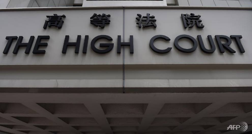 Hong Kong police hunt for knife-wielding man in court complex