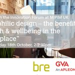 How does health & wellbeing improve productivity in the workplace? Join us 2pm #MIPIMUK tomorrow with @GVAViews https://t.co/O2FgPkHMCB