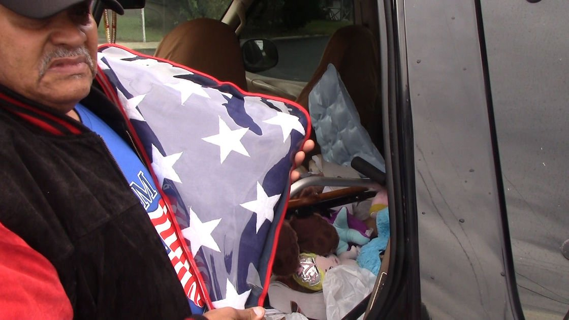 """""""Mr. Positive"""" wants to help veterans and others in need - but, he faces a hurdle"""