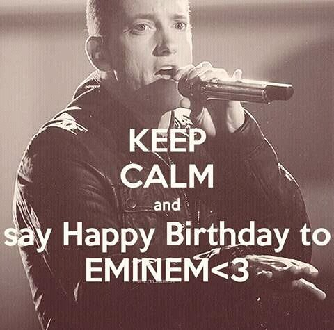Here\s wishing a happy bday to the God of Rap