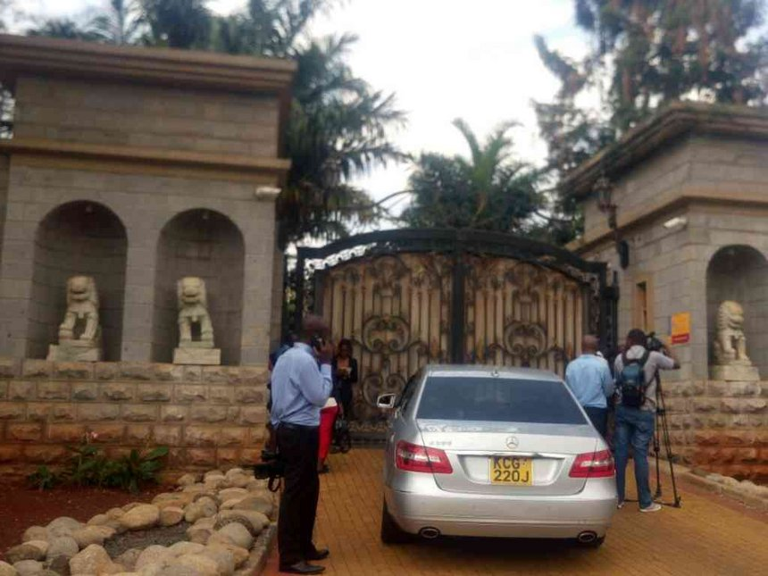 Police find 5 rifles, bullets in Wanjigi's Malindi villa
