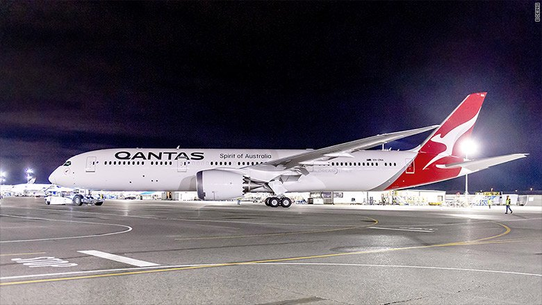 Australia's Qantas hops ahead with first nonstop flight to Europe