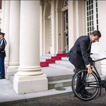 FORGET BLUE LIGHTS, MINISTER RIDES HIS BIKE