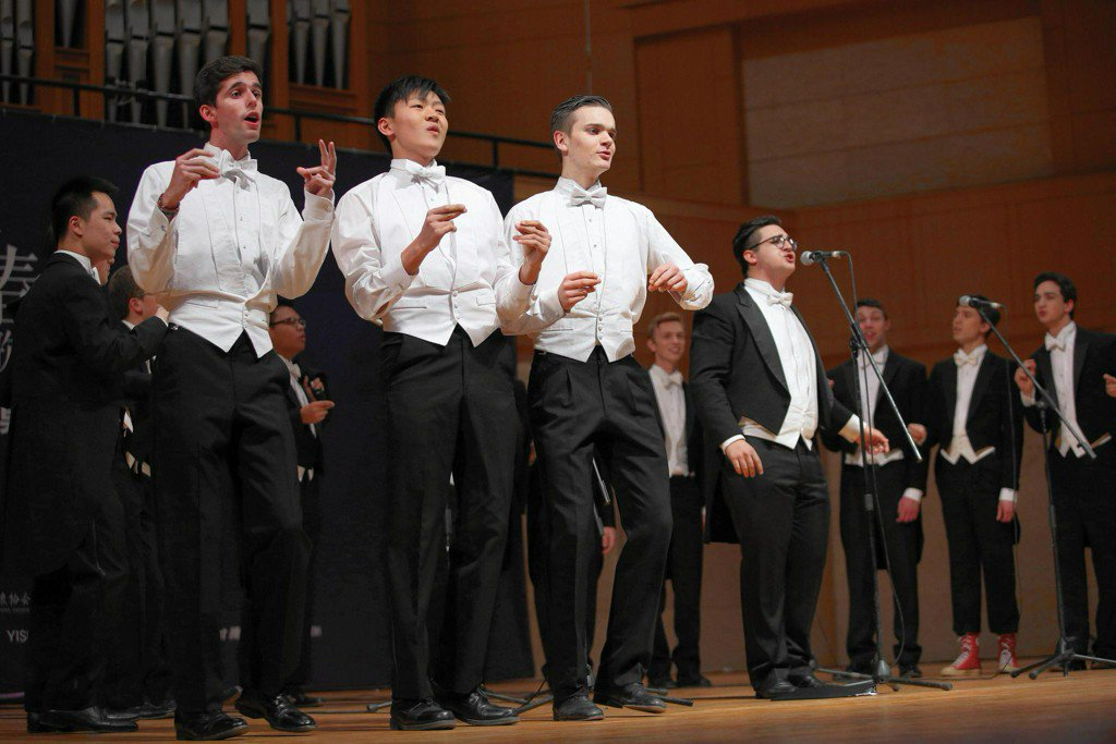 Yale's Globetrotting A Cappella Group The Spizzwinks Honors Its Hometown Pledge