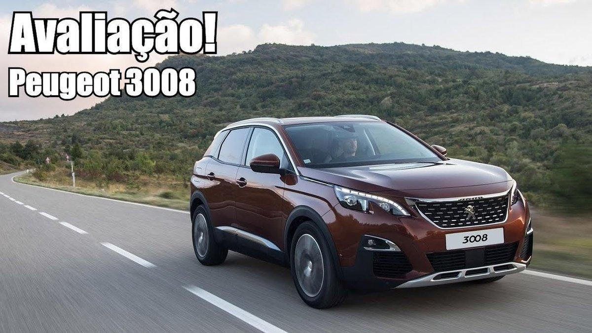 Peugeot 3008 2018 THP Avaliação - Falando de Carro - Dauer: 5 Minuten, 44 Sekunden