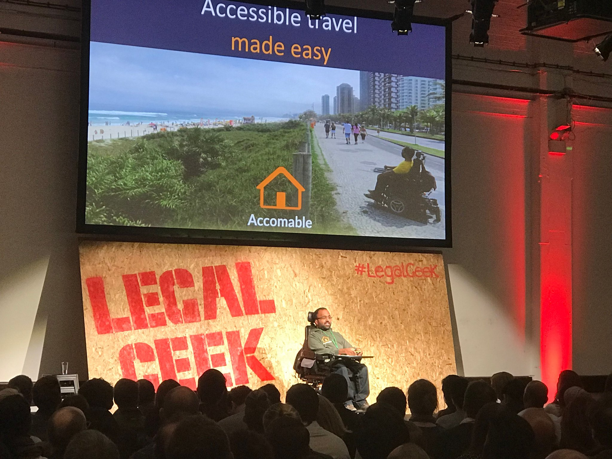 Inspiring talk from a lawyer on the need for accessibility at#LegalGeek @wearelegalgeek @legalpioneer https://t.co/nD8CqZJ2KG