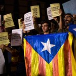Madrid, Catalonia clash over jailed pro-independence leaders as protests called