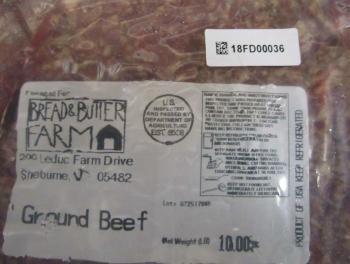 Vermont processor recalls ground beef due to possible E. coli contamination