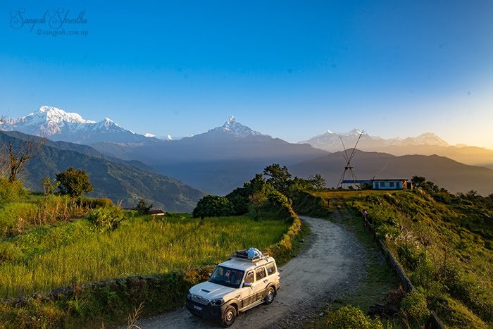 travel RT @pokhara: A bike ride from...