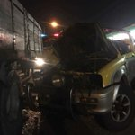 52-year-old man dies after crashing 4WD into trailer, Exora