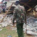 Building Collapse at Uhuru Kenyatta's Rally in Nyeri Kills One, Injures Several