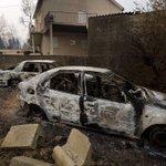 40 die in fires in Portugal, Spain; Rain helps firefighters