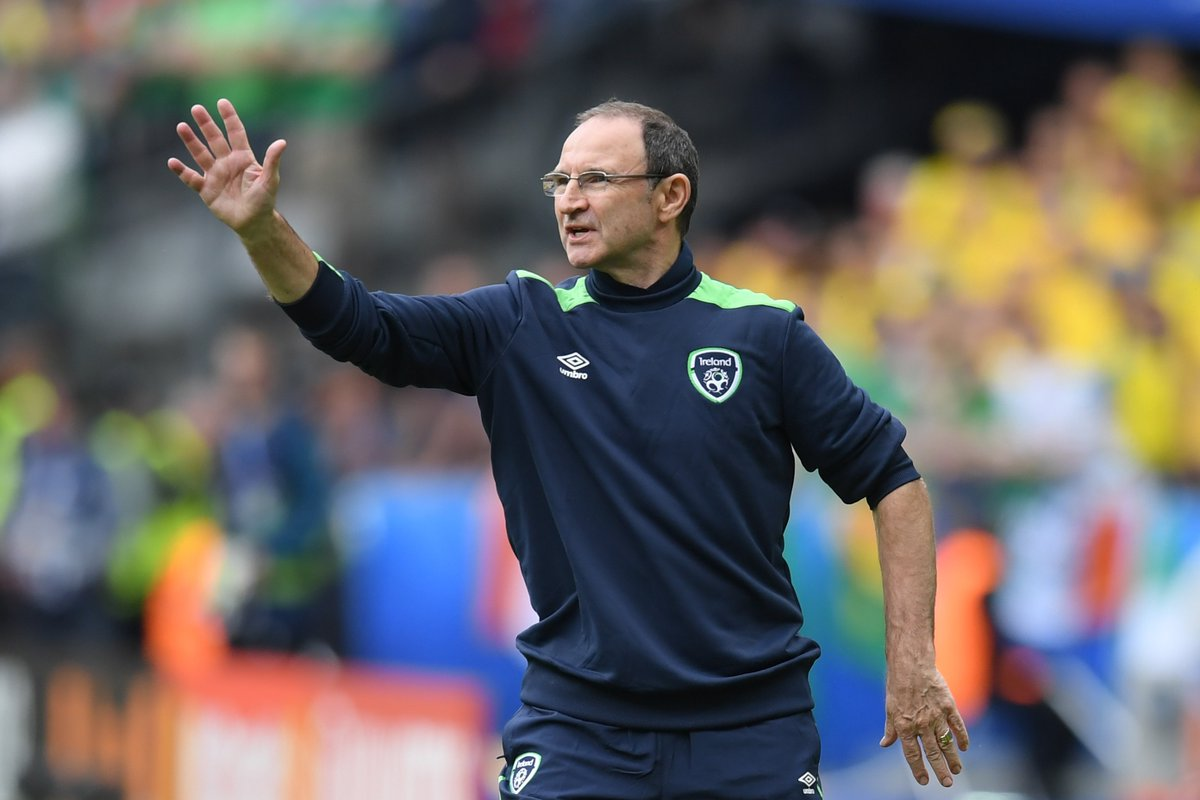 Martin O Neill On Play Off Draw Vs Denmark Being Unseeded Means