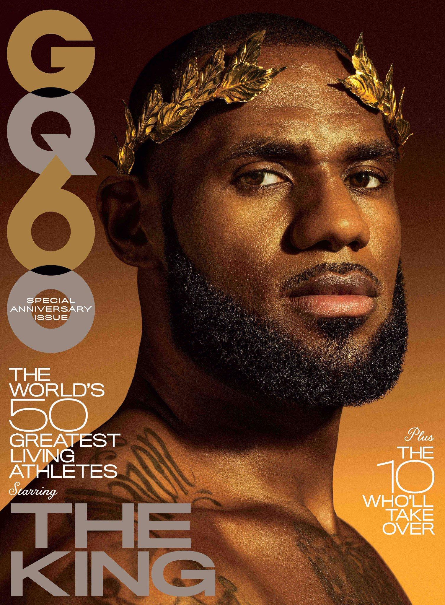 Presenting GQ's November cover star: LeBron James (@KingJames) https://t.co/oA6vvmJtcU https://t.co/pX0Mp0tBT5