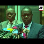 Kenyan Int Ministry announces ban on all opposition protests