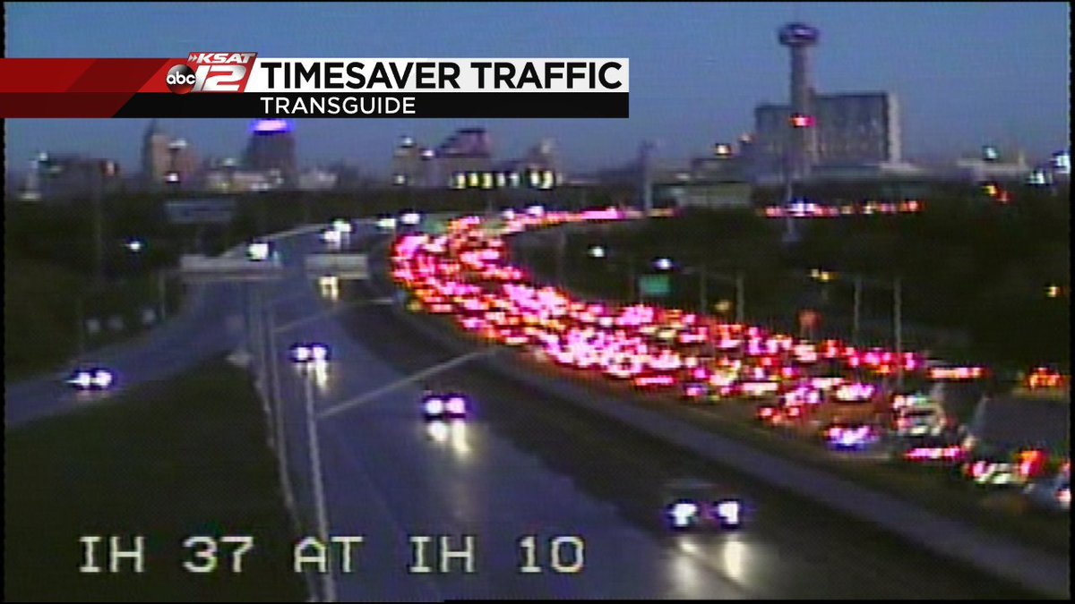 Update Major Accident Nb Ih 37 At Commerce Has Traffic Backed Up To Ih