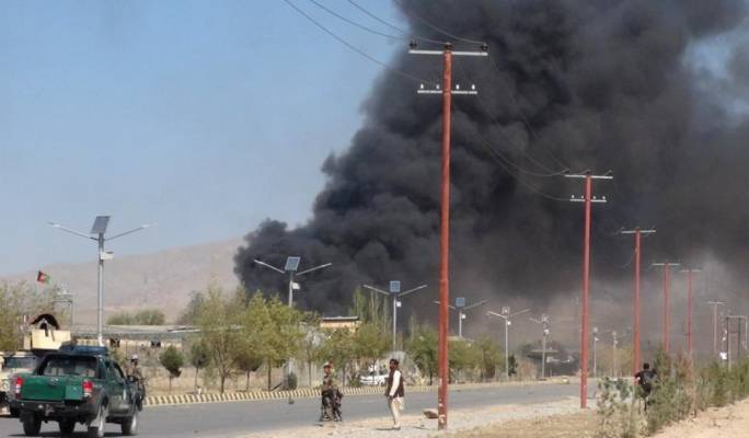 Suicide attack on Afghan police training centre leaves dozens dead