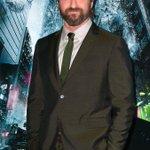 Gerard Butler Walks the Red Carpet a Week After MotorcycleAccident