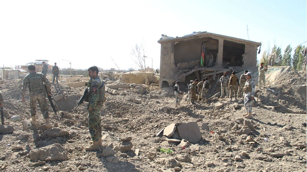 Dozens killed in suicide attack on Afghan police HQ