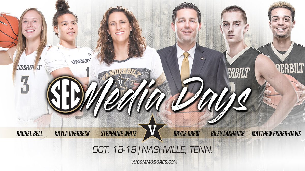 RT @VandyMBB: #SECTipoff is tomorrow, which means the season is right around the corner!  #AnchorDown https://t.co/vBbWBZ2KzV