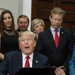 Small business owner appears in photo with Trump… with predictable results