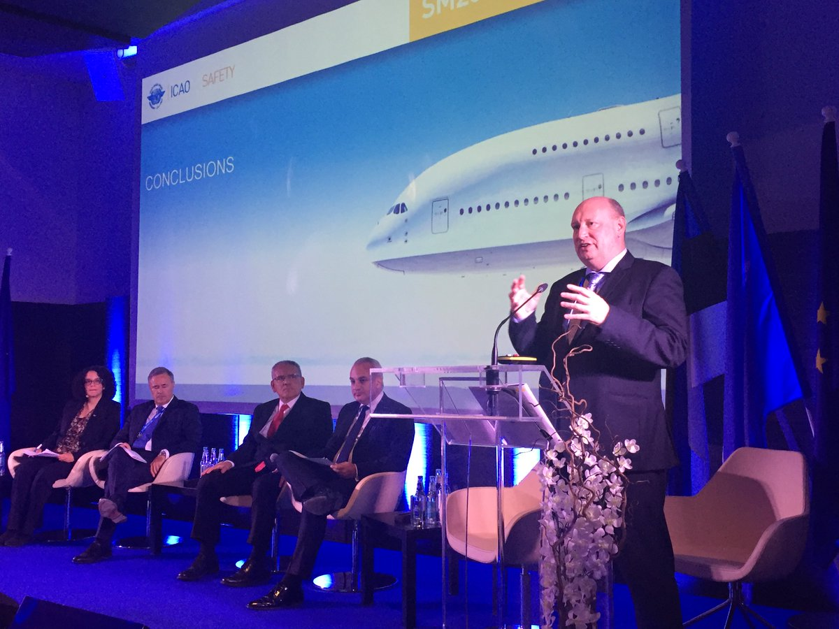 test Twitter Media - DG Hololei closing #ICAOTallinn2017 aviation safety symposium: Safety is and will remain the first priority in aviation. No complacency! https://t.co/xSbBSa3lWr