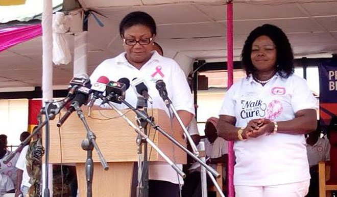 First Lady Joins Breast Cancer Campaign