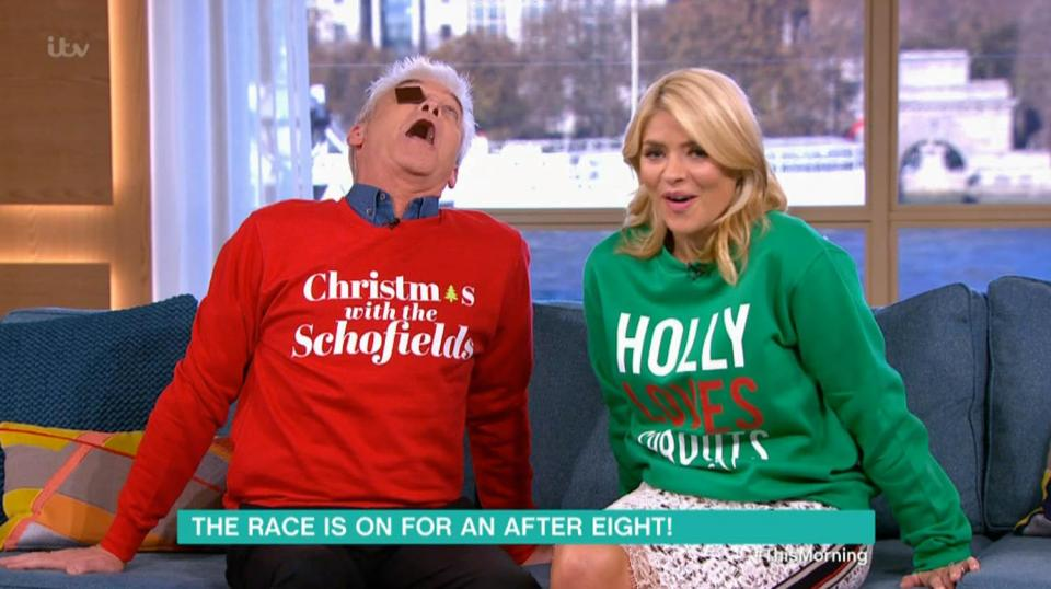 This Morning have put up their Christmas tree NINE weeks early – after Holly Willoughby admitted she puts hers up in November