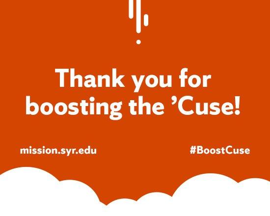 #BoostCuse