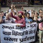 Firecracker sale ban in Delhi-NCR: 1182 kg seized, 21 cases registered; two cops suspended