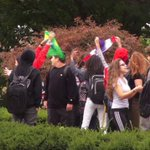 Students Walk Out of New Jersey High School Protesting Teacher's 'speak American'Comments