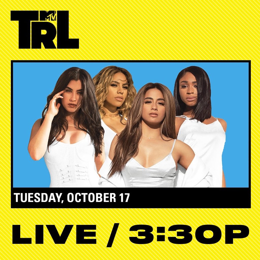 TODAY!! @TRL. Don't miss it. Tune in on @MTV! �� https://t.co/gyhn0aHi7w