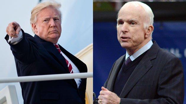 Trump Issues Warning To McCain: 'I FightBack'