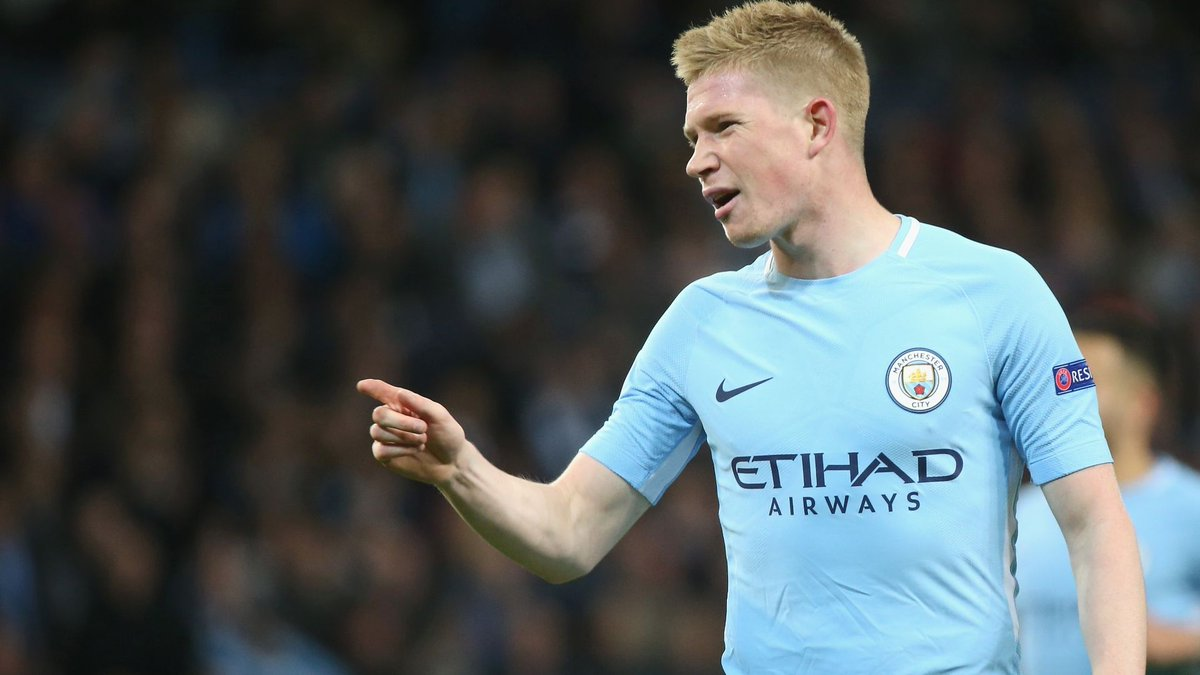 Is Kevin De Bruyne on Messi and Ronaldo's level? https://t.co/mTuyMoauGC https://t.co/SZoBNC9Ikt