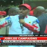 Deputy President Wiliam Ruto takes vote hunt to Migori, Kisii, Kericho Counties