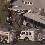 3 taken to hospital after RTD bus crashes into house
