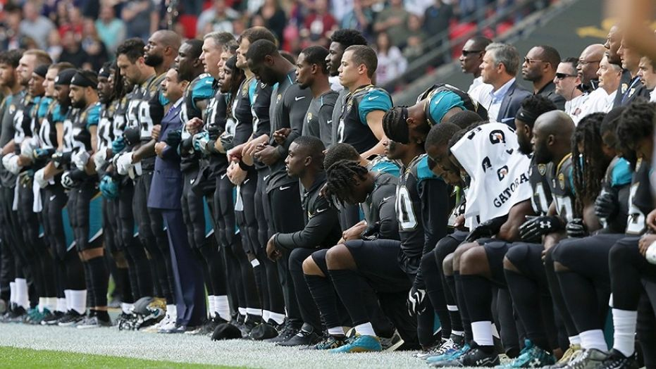 Jacksonville Jaguars apologize to military for kneeling in London
