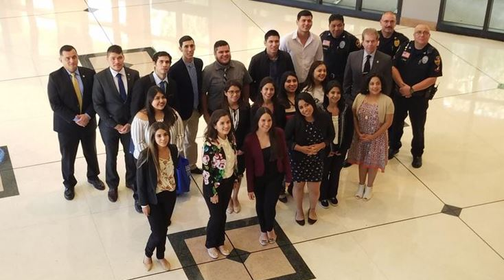 Laredo-area law enforcement officials host college students from Mexico