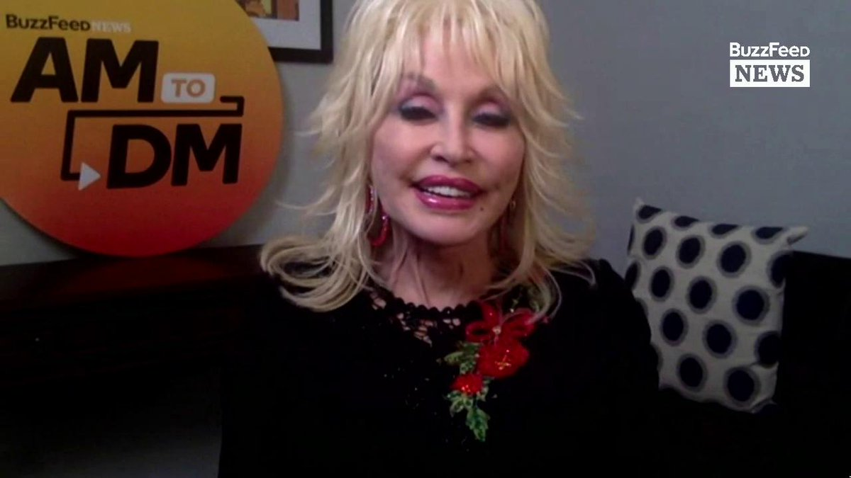 """Try to have as much love and compassion in your heart that you can.""  Music legend @DollyParton shares her infinite wisdom with #AM2DM https://t.co/FhHPwnbpk1"