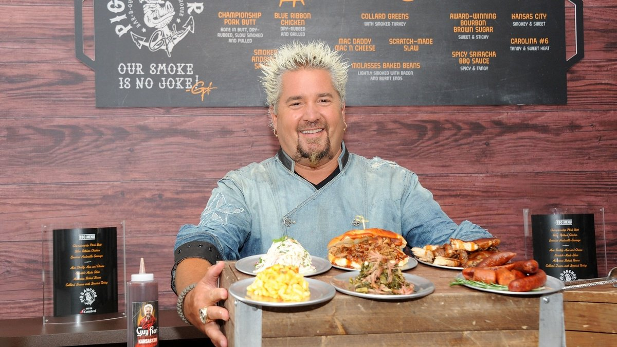 Guy Fieri is cooking 5,000 meals a day for wildfire victims