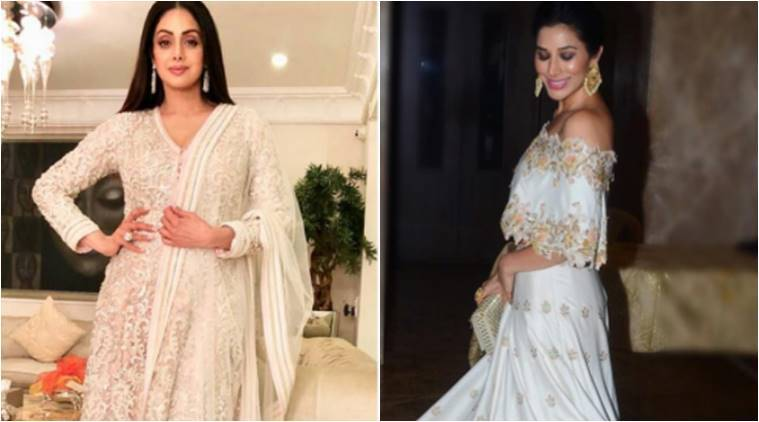 Sridevi and Sophie Choudry show how white can be your colour this festiveseason