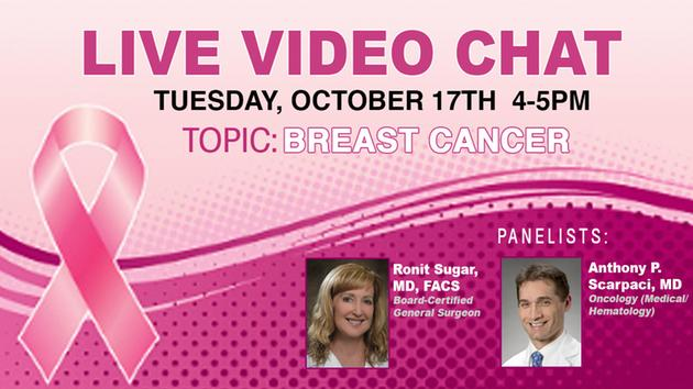 From 4pm - 5pm, join us & @KimmelCancerCtr for a live chat about #breastcancer. Experts will answer your questions: https://t.co/5SCqgR2KJ5 https://t.co/hj1XgosHyC