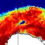 Un trou grand comme trois fois la Bretagne découvert au milieu de l'Antarctique